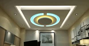 living room modern room false ceiling designs round mirror with white frame smooth beige wall