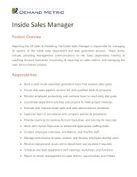 best photos of s manager job description sample s inside s manager job description sample