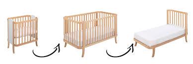 Manhattan Baby Bed Convertible Crib Furniture Modern Design In Wood Made  Italy Shop Uk ...