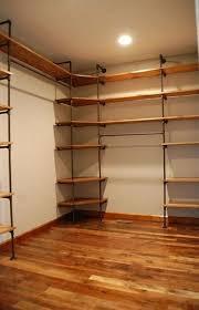 diy closet shelves and rods