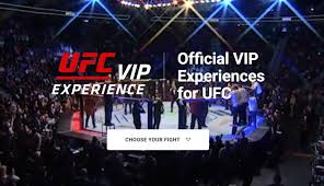 Ufc Vip Experiences