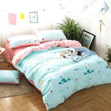 fish bedding sets turquoise white teal and blush pink ocean life tropical fish and seahorse heart