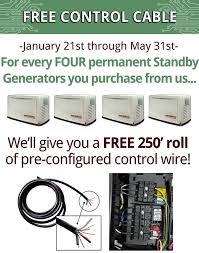 speed up your generator installs and increase your profits generac home standby generator control wire