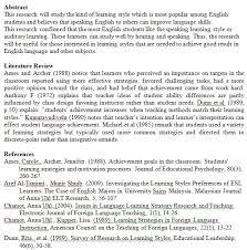 dissertation literature review template