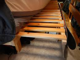 Tis is my friends sliding, pull-out bed. It's a tremendous space saver