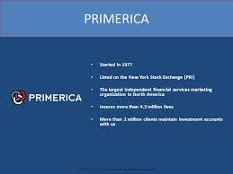 Primerica Presentation Business Expansion Presentation Ppt Download
