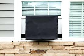 window ac cover for winter sturdy covers defender unit black . Window Ac Cover For Winter Covers Wall Air Conditioner