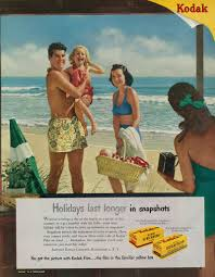 Retro Holidays Vintage Kodak Color Film Ad Family On Beach Holiday Flickr