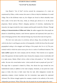 Example Of Profile Essay Formal Student Profile Essay Sample 5 Paragraph On Teamwork Example
