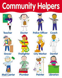 Creative Teaching Press Community Helpers Basic Skills Chart