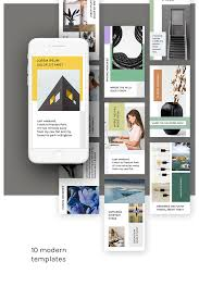 Pumpkin Web Design Preston Instagram Stories Kit Vol 5 Social Media Textures Design
