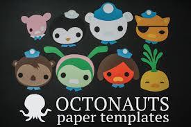Octonauts Bedroom Decor Octonauts Characters Paper Templates Reiko Handcrafted