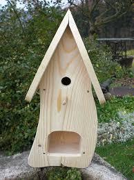 Dekorativer Nistkasten Nb1 Mit Vogelfutterhaus Zum Selbst Bauen