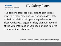 Safety Plans Child Welfare Safety Plans Vs Domestic