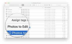 Mac Finder How To Set Up And Start Using Finder Tags On The Mac Imore
