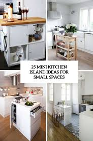 Small Space Kitchen Design With Island Alluring Small Spaces Kitchen Ideas Design Decorating