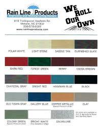 Alcoa Coil Stock Color Chart Alcoa Aluminum Gutter Color Chart Coloringssite Co