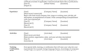 Resume Format In Ms Word Free Download Sample Promisorry Note