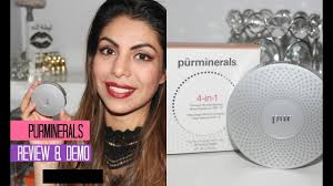 pur minerals 4 in 1 foundation first impression review