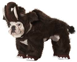 planet wooly mammoth dog costume
