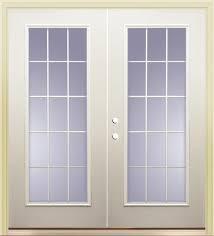 french exterior doors menards. mastercraft® primed steel 72\ french exterior doors menards a