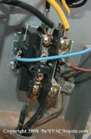 contactor replacement diyhvacrepair com new installed contactor