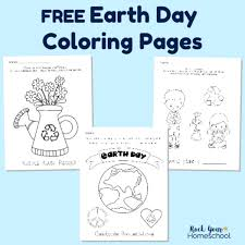 Kids activities blog loves coloring pages and how versatile they can be! Free Earth Day Coloring Pages For Fun Activities For Kids Rock Your Homeschool