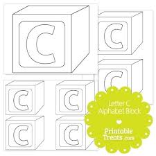 Baby Block Box Template Free Including One For Alphabet Blocks