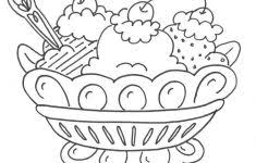 Small Picture Banana Split Coloring Page Fablesfromthefriends Com Coloring