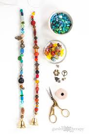 How to Make a Beaded Wind Chime with Bells Step (5)