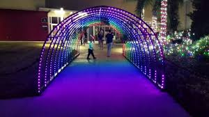 Driveway Tunnel Christmas Lights Real Life Christmas Light Show Pixel Tunnel