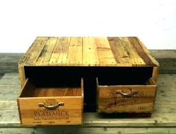 wine storage coffee table boxes wood reclaimed with vintage box saw stand full size