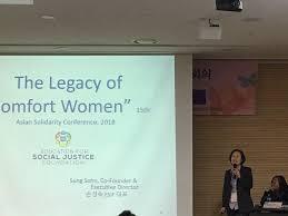 comfort women lecture에 대한 이미지 검색결과
