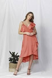 Fate And Becker Alexa Wrap Dress