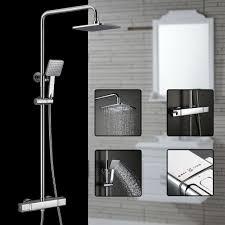 Pst At Duschsystem Mit Thermostat Duscharmatur Regendusche