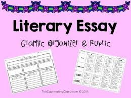 best literary essay images teaching writing this resource provides a literary essay graphic organizer planner and rubric the literary essay