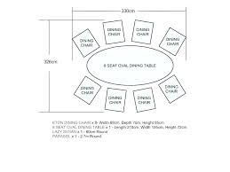 8 table d dimensions large round dining seats standard person sizes for banquet size 6 foot