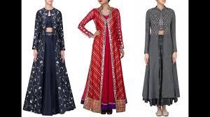 Overcoat Gown Designs Latest Long Jacket Design Long Jacket On Lehengagown Long Jacket Design For Girls Latest Long Shrug