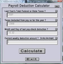 Estimate Payroll Deductions Estimate Payroll Deductions Rome Fontanacountryinn Com