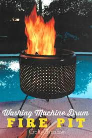 Fire Drum Designs Washing Machine Drum Fire Pit B I R D W O O D Washing