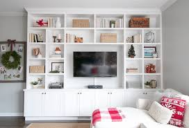 shelves for the holiday season