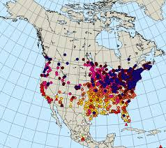 2017 Hummingbird Migration Chart Monarch Butterfly Migration Map Spring 2017 Monarch