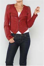 love tree wine spike jacket front cropped image