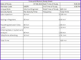 time study templates excel time study excel template time study templates time motion study