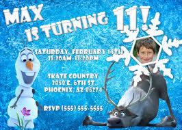 Frozen Birthday Invitation Wording Capriartfilmfestival