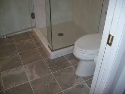 tiles bathroom floor. Bathroom Floor Tiles Ideas With Cerami Square And Door Glass