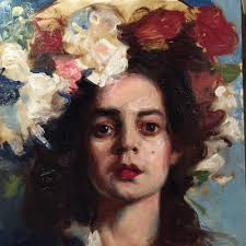 and given opportunity to make two such paintings using this method with instructor critiques all while observing and painting from the live model