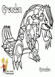Small Picture Pokemon Coloring Pages Groudon Coloring Home
