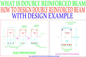 How To Design A Beam What Is Doubly Reinforced Beam And How To Design Doubly