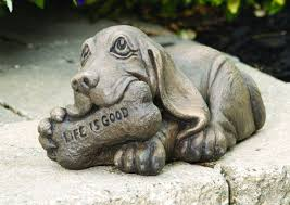 dog garden statue. Dog Garden Statue